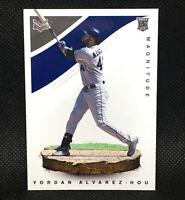 2020 Panini Magnitude Yordan Alvarez RC Houston Astros Rookie Insert #11
