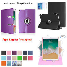 "For Apple iPad Air 2 9.7"" A1566/A1567 Stand Smart Case Cover Auto Sleep/Wake"