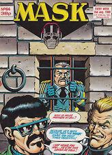 M.A.S.K. - #64 - 1988 Original UK-Comic zur Toyline DC Phantasie ist ihre Stärke