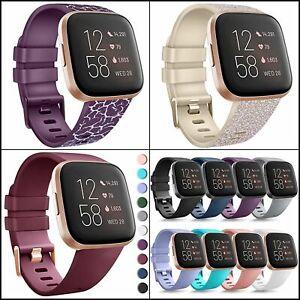Bands for Fitbit Versa 2,Versa / Versa Lite/Versa Special, Soft Sport Wristbands