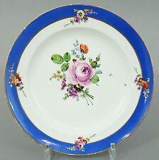 (MT046) Meissen Teller Marcolini Periode 1774-1814, D=22cm, 1. Wahl
