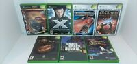 Lot of 7 OG Original Xbox Video Games Complete With Cases And Manuals Gta 3 More