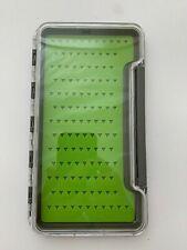 Fly Fishing Box Flies Case Waterproof Fly Lure Box Deep Slot Hooks Midge HB99