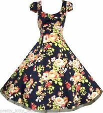 Vestiti da donna stile anni'50, rockabilly in cotone taglia S