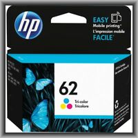 HP 62 Tri-Color ink, OfficeJet, Envy,250,5740,5741,5540,5640,5642,5643,NEW !!!