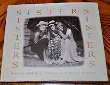 r- BOOKS SISTERS LOTS OF PICTURES COFFE TABLE BOOK IN GREAT SHAPE GIFT OR KEEP