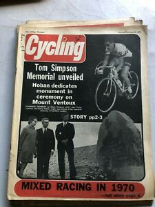 Cycling & Sporting Cyclist MAGAZINE October 25 1969 #V045