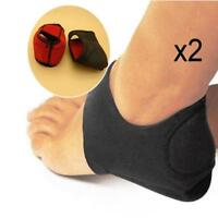 Plantar Fasciitis Therapy Wrap Arch Support Relieve Heel Spur Pain Sock BLACK SA