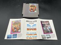 Bad Dudes - (Nintendo NES) Game Cartridge And Poster ONLY - No Manual or Box