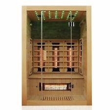 Infrarotkabine Infrarotsauna Wärmekabine Sauna 2 Personen Vollspektrum Hemlock