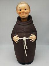 Vintage Goebel Friar Tuck Monk Decanter with Stopper #KL92