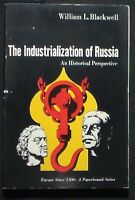 The Industrialization of Russia:An Historical Perspective Blackwell PBk 1970 VG+