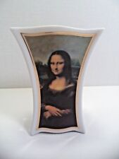 "Goebel Artis Orbis Leonardo Da Vinci Mona Lisa Vase Porcelain 4.75""H Mona Lisa"
