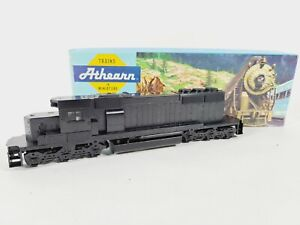 "Athearn 4459 Undecorated ""Black""EMD SD40-2 Dummy Train Engine Kit HO Vintage NEW"