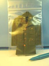 """Dollhouse Miniature Size Vintage Army Uniform   1/12"""" sale  G111"""