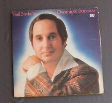 "Vinilo LP 12"" 33 rpm NEIL SEDAKA - OVERNIGHT SUCCESS"