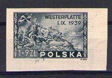 POLOGNE POLSKA Yvert n° 454a neuf avec charnière - non dentelé