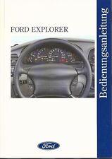 FORD   EXPLORER  2  1996   Bedienungsanleitung   Handbuch  Betriebsanleitung  BA
