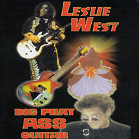 LESLIE WEST BIG PHAT ASS GUITAR VHS TAPE