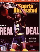 January 21, 1991 Shaquille O'Neal Louisiana State Tigers LSU Sports Illustrated