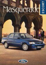 Ford Escort Masquerade Saloon Mk6 Limited Edition 1996 UK Market Sales Brochure