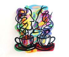☆ David Gerstein ☆ Tea for Two ☆ Original Stahlschnitt ☆ handsigniert ☆  ☆