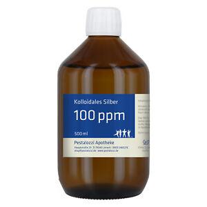 Kolloidales Silber 100 ppm (Silberwasser) - aus Apothekenherstellung