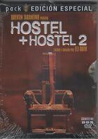 AFM53 - DVD HOSTEL + HOSTEL 2    EDI. ESP.   PRECINTADO