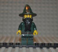 Lego Figur cas435 Kingdoms Dark Green Wizard aus Set 7955
