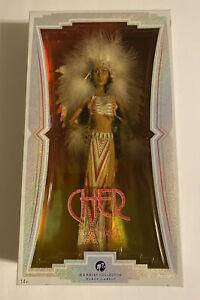 Cher Native American Indian Bob Mackie Black Label Barbie Doll