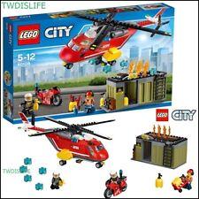 Fire Station Lego Sets Packs Helicopter For Sale Ebay