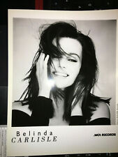 Belinda Carlisle ex-Go-Gos #1 , original vintage press headshot photo