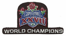 "1993 SUPER BOWL XXVII NFL FOOTBALL DALLAS COWBOYS WORLD CHAMPIONS 3 3/4"" PATCH"