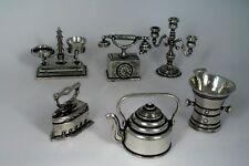Zinn Miniatur Figuren Zinnfiguren 6 STK MINIATUREN neu