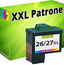 TINTE PATRONE für LEXMARK 26/27 X1180 X1185 X1190 X1250 X1270 X1290 X2230 X2250