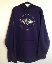 UNDER ARMOUR NFL Baltimore Ravens Purple Hoodie 3XL Sweatshirt Jacket Combine