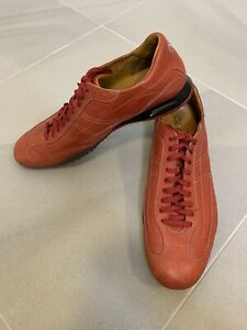 Cole Haan Men's Size 15M Air Red Leather Lace Up Sneakers