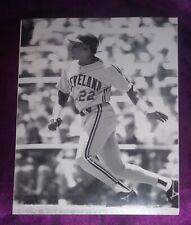 Candy Maldonado Cleveland Indians Photo Original. 8 x 10
