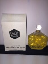 OMBRE ROSE Eau De Toilette Jean Charles Brosseau 2.5oz 75ml NEW