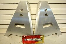 PRO ARMOR ARCTIC CAT WILDCAT FRONT A-ARM GUARDS 2012, SILVER