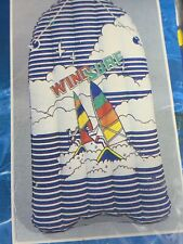 Vintage Swimming Pool Beach Raft Colorful Retro Sailing Windsurfing 80's 90's