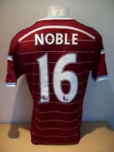 Mark Noble Match Worn West Ham United 2014/15 Season Home Shirt AFTAL/UACC RD