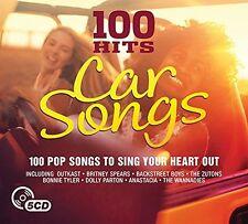 100 HITS-CAR SONGS NEW DIGIPACK EDITION (2016) (BACKSTREET BOYS,...) 5 CD NEU