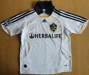 "2008/09 LA Galaxy #23 David Beckham MLS Adidas Size 28/30"" Football Shirt Jersey"