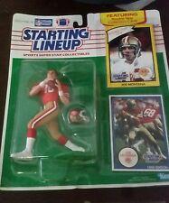1990 Starting Lineup Joe Montana Nfl Football Figure New Sealed Nip Kenner 49ers
