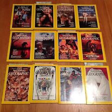 1991 National Geographic Magazine Complete Year 12 Issues