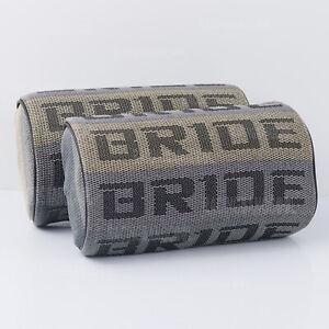 2pcs Bride Gradation Fabric Headrest Pillow Supports Neck Rest Seat Material