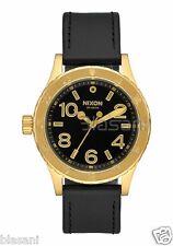 Nixon Original 38-20 Leather A467-513 Gold / Black 38mm Watch