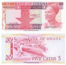 Ghana 5 Cedis 1980 P-19b  Banknotes  UNC