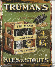 TRUMANS STOUT & ALE 8x10in pub bar shop cafe man cave diner shop games room